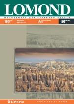 Фотобумага Lomond матовая ( формат А4 плотность 190 г/м2 двухсторонняя матовая ) 50 листов