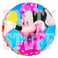 Воздушный фольгированный шарик Минни Маус, 44 см
