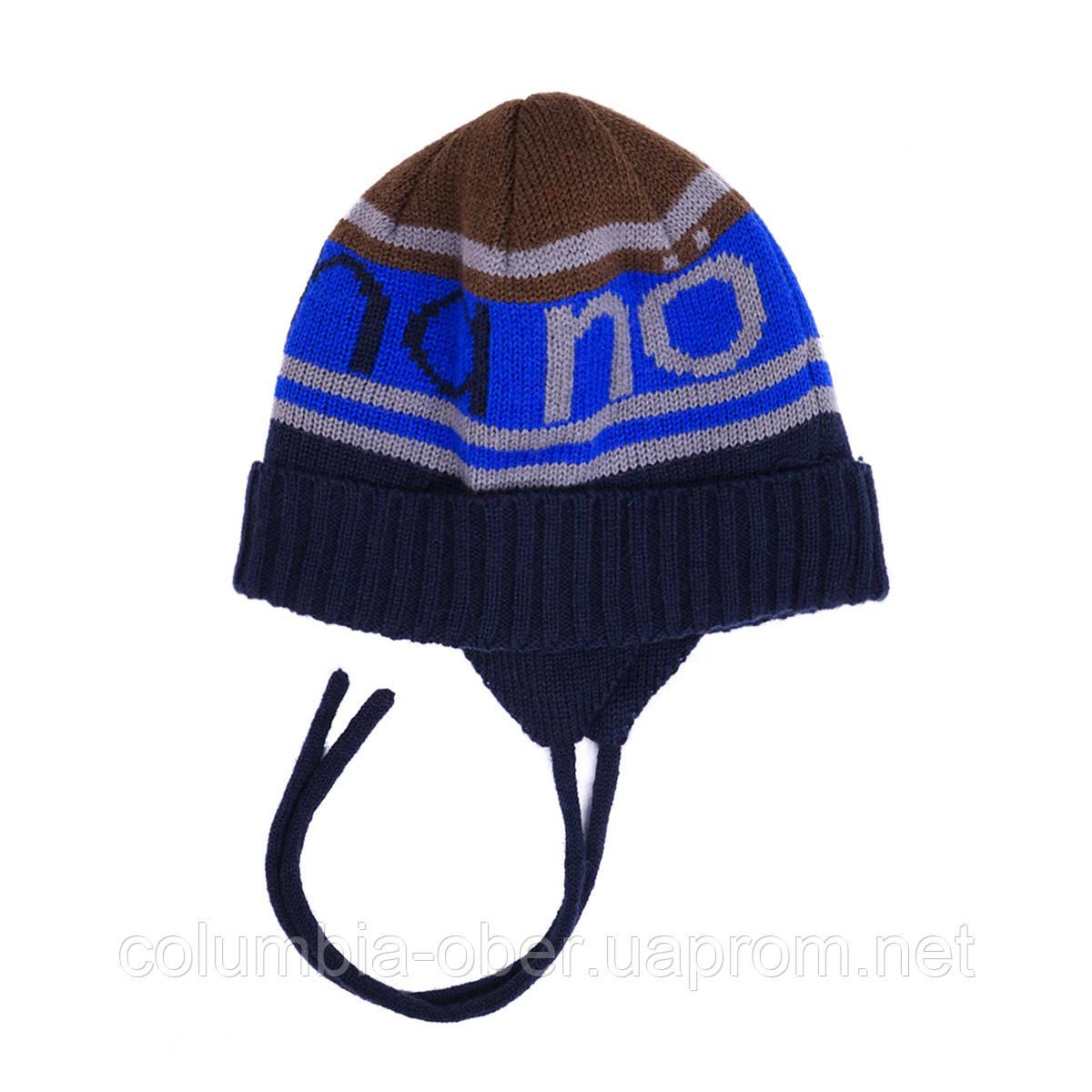 Зимняя шапка для мальчика Nano 251 TC F16. Размер 2/3Х -  7/12.