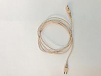 Шнур для слухового аппарата 2 pin на два уха