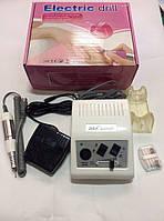 Профессиональный фрезер для маникюра и педикюра Electric drill JD500 серый