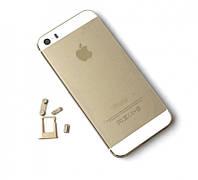Задняя крышка (панель) iPhone 5s gold