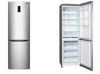 Холодильник LG GA-B419SMQL  190 см/312 л/ А+ / No Frost / инвертор / внешн. диспл. /серебристый