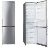Холодильник LG GA-B489YMCZ 2 м/ 360 л/ А++/Total No Frost/ Линейный компрессор/Серебристый