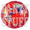 Фольгированные воздушные шарики Человек Паук, красный, 44 см