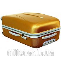 Чемодан сумка 882 XXL (большой) бордовый, фото 3
