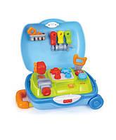 """Игрушка Huile Toys """"Чемоданчик доктора"""", детский набор инструментов, детский чемодан с инструментами"""