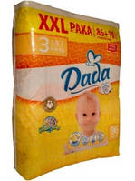 Подгузники Dada Extra Soft 3 Midi XXL Paka (4-9 кг) 96 шт.