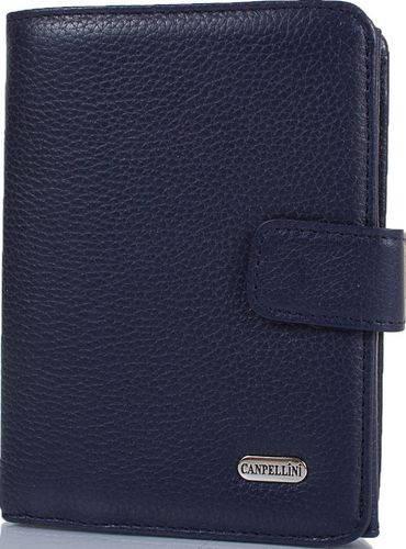 Классический женский кожаный кошелек CANPELLINI SHI968-241 черный