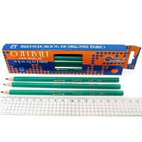 Карандаш графитовый пластиковый J. Otten 650HB без ластика
