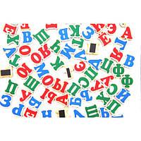 Набор Руссский алфавит на магнитах 72 буквы, Komarovtoys