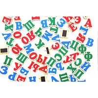 Набор Русский алфавит на магнитах 72 буквы, Komarovtoys