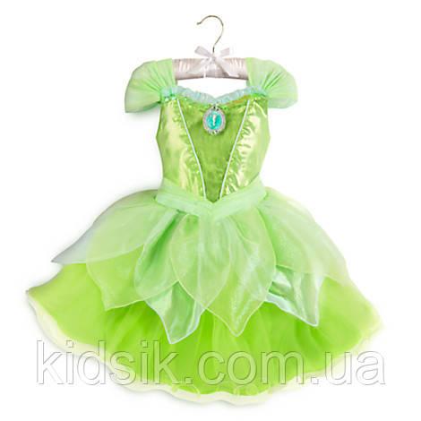 42db2b34744a0b Карнавальный костюм Tinkerbell Динь Динь + светящиеся крылья Дисней.  Дисней/ Disney. Шикарное платье феи ...