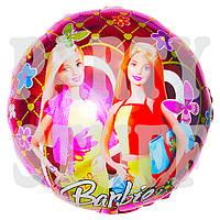 Фольгированный шарик Барби