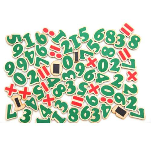 Набор Цифры и знаки на магнитах 72 элемента, Komarovtoys