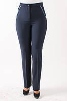Женские брюки Нона синие 54