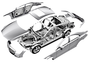 Элементы кузова на ВАЗ 2110