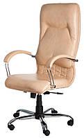 Кресло Никосия Хром Титан Голд Беж (Richman ТМ)