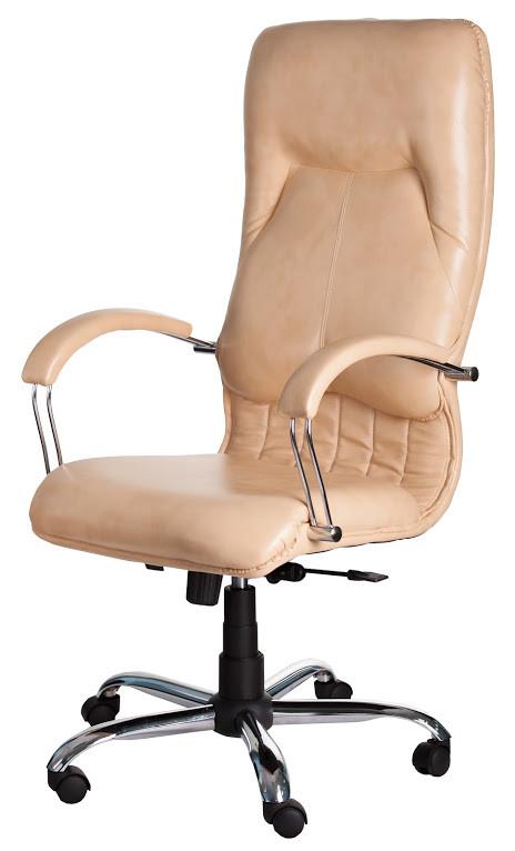 Кресло Никосия Хром Титан Голд Беж (Richman ТМ) - АБВ мебель в Днепре
