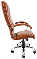 Кресло Никосия Хром Титан Коньяк (Richman ТМ), фото 2