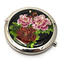 Зеркало мини цветочки