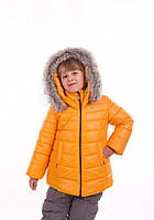 Комплект зимний желтый для девочки Goldy (26а-зд-15) Evolution