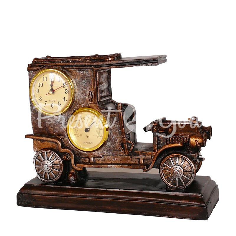 Часы с термометром «Автомобиль», h-21х10х26,5 см.