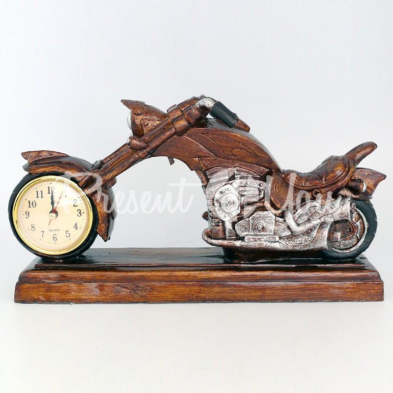 Часы «Мотоцикл Harley-Davidson», 16х30х9 см.