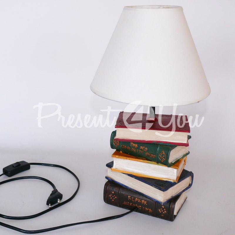 Настольный светильник «Книги», h-36 см.