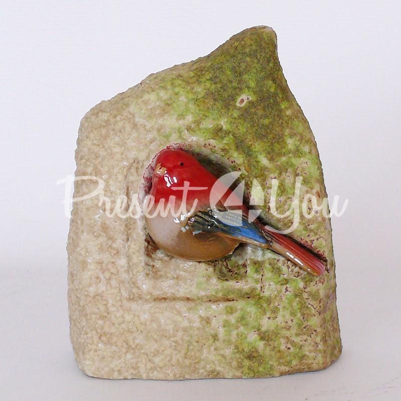 Фигурка «Птичка в домике», 14,5х7х14 см.