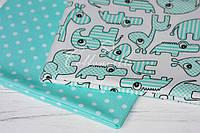 Хлопковые ткани с рисунком