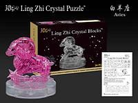 Crystal Puzzle развивающие наборы Кристаллические 3D пазлы серия Зодиак овен