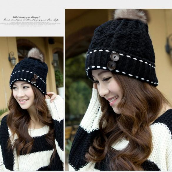 Женская шапка для подростка