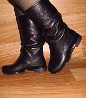 Зимние женские сапоги без каблука, фото 1
