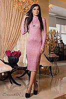 Женское розовое  платье  из ангоры 1900 Seventeen 44-50 размеры