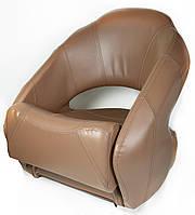 Кресло Premium Bucket boat с системой flip-up коричневое, фото 1