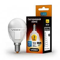 LED лампа VIDEX G45 5W E14 3000K 220V