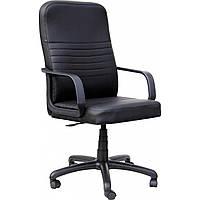 Кресло офисное Прайм скаден черное