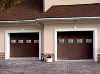 Ворота гаражные секционные RSD02 3500х3000 Doorhan