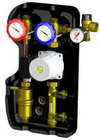 """2-х линейная солнечная станция NOVASOL DUO, Wilo Star ST 15/8 Eco, 8-38 л/мин, 6 бар, 1""""HP"""