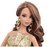 Кукла Barbie Сияние города Золотое платье - City Shine Barbie Gold Dress, фото 2