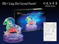 Crystal Puzzle Развивающий набор Кристаллические 3D пазлы серия Зодиак овен
