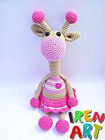 Жираф-погремушка девочка Варюша