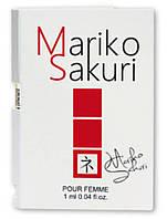 Духи с феромонами для женщин Mariko Sakuri 1 ml. Бесплатная доставка Укрпочтой