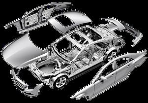 Элементы кузова на ВАЗ 2115