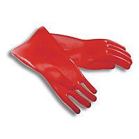 Перчатки  диэлектрические бесшовные (0-ой класс защиты до 1 кВ) исп. на 9 кВ