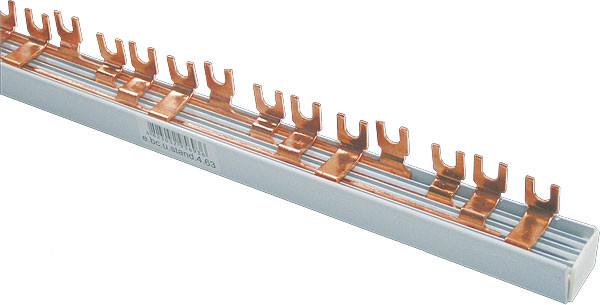 Шина соединительная 3ф.до 63А (длина 1м типFORK) (вилка) - Интернет-магазин budmir в Киеве