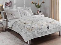 Семейный комплект постельного белья ТМ ТАС LINUS V52 ЗОЛОТО