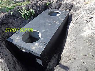 Автономная канализация, септик 4куб.м., пгт.Клавдиево 9