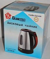 Чайник электрический дисковый DOMOTEC DT818, электрический , Домотек, товары для кухни